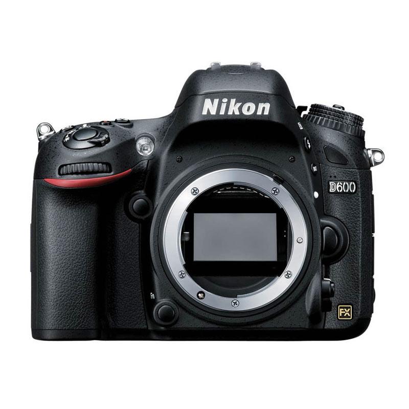 Nikon D600 Black Kamera DSLR [Body Only/24.3 MP]