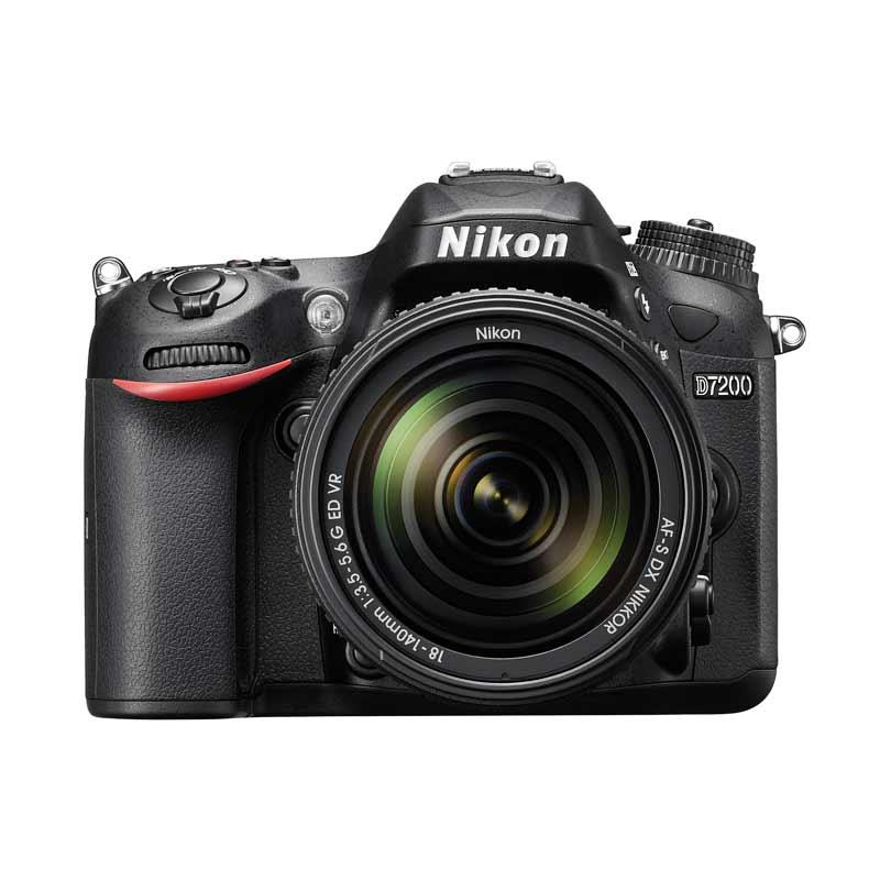 Nikon D7200 Kit AF-P 18-140mm VR + Screen Guard + SDHC 16GB + Filter UV 67mm
