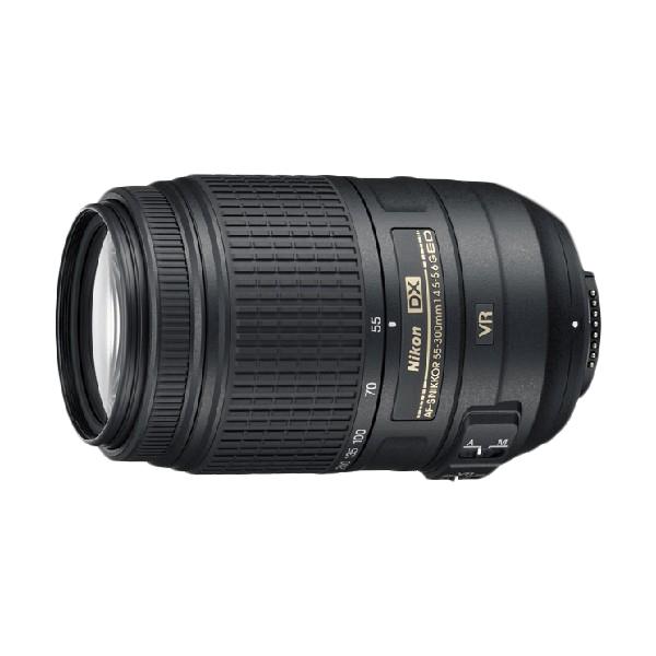 Nikon Nikkor 55-300mm f/4.5-5.6G ED VR Lensa Kamera (Resmi PT Alta Nikindo)