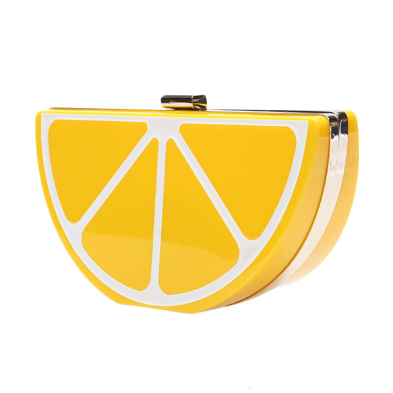 Nila Anthony Clutch Yellow Lemon 61886 Yellow Tas Selempang Wanita