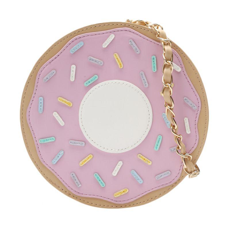 Nila Anthony Donute Bag 23186 Pink Slingbag