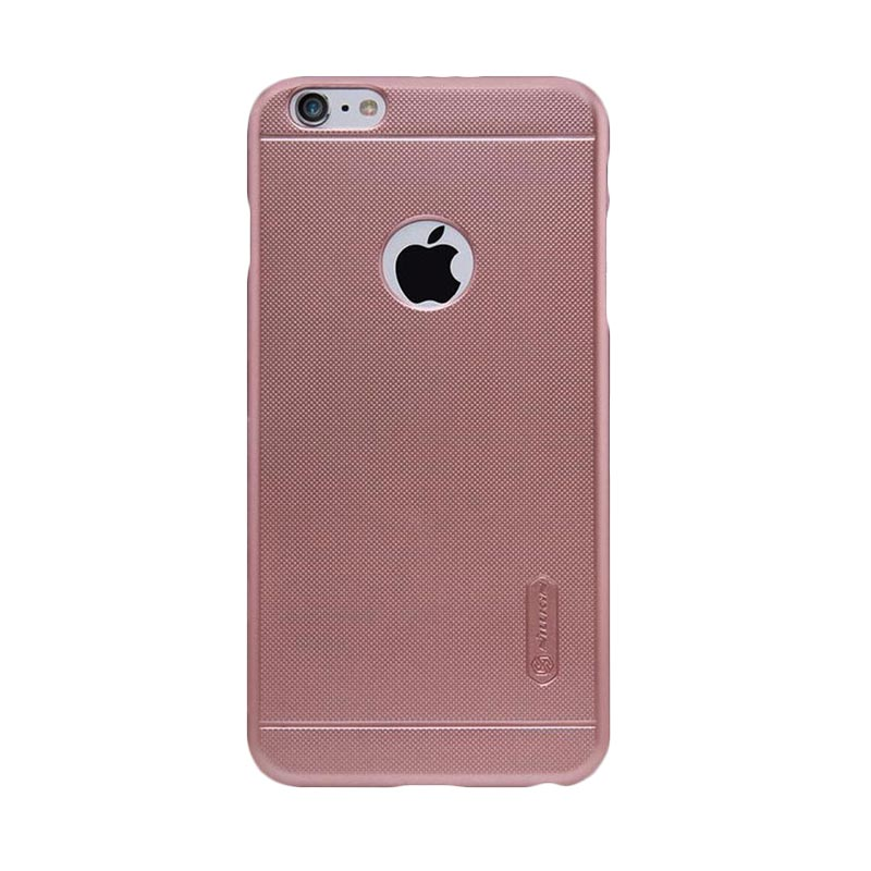 Nillkin Frosted Hardcase Casing for iPhone 6 Plus or 6s Plus - Rose Gold