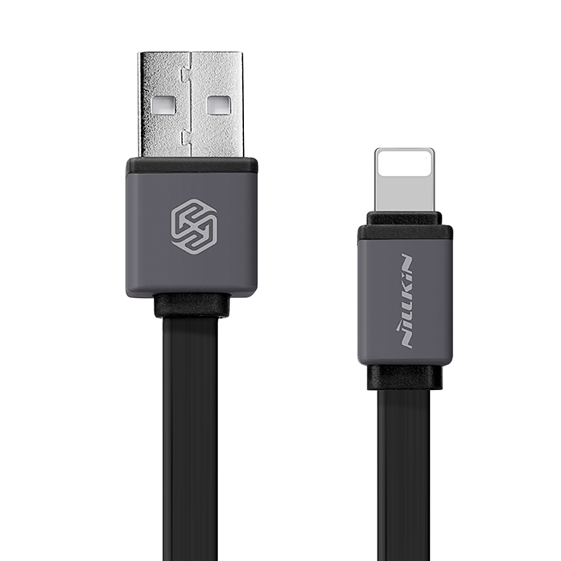 harga Nillkin Black Mini Cable Sync and Charge Lightning for iPhone iPad [30 cm] Blibli.com