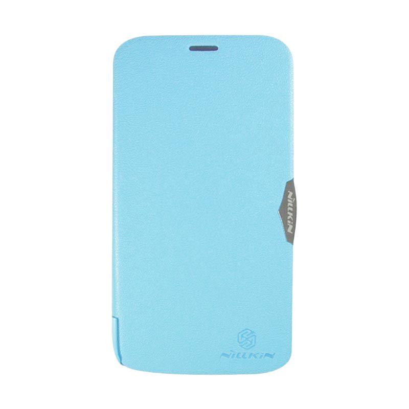 Nillkin Fresh Blue Leather Case Lenovo A850