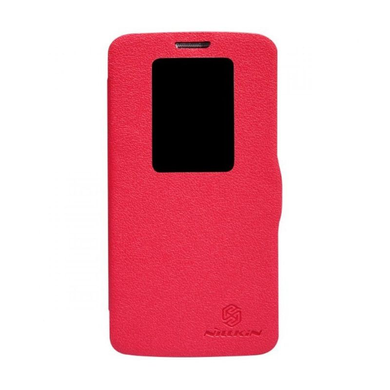 Nillkin Fresh Leather Red Casing for LG G2