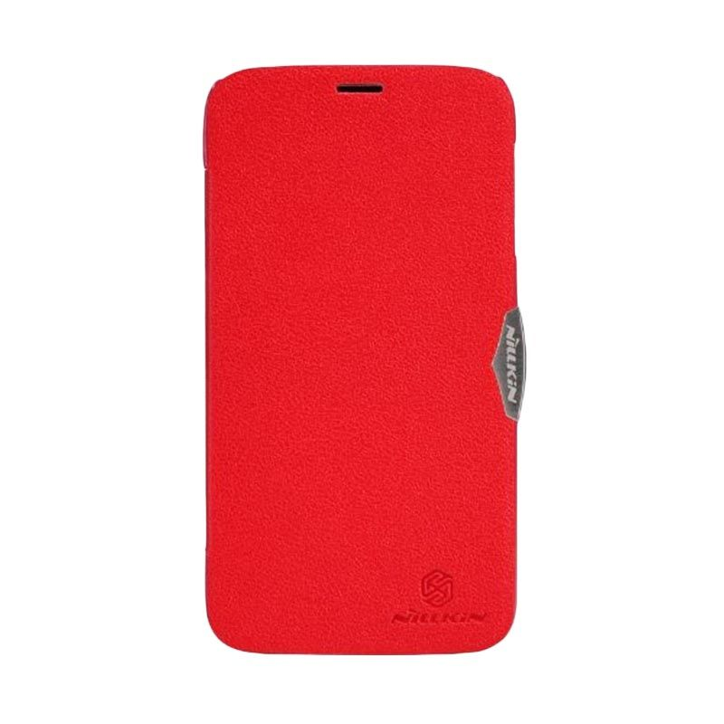 Nillkin Fresh Red Leather Case Lenovo A850