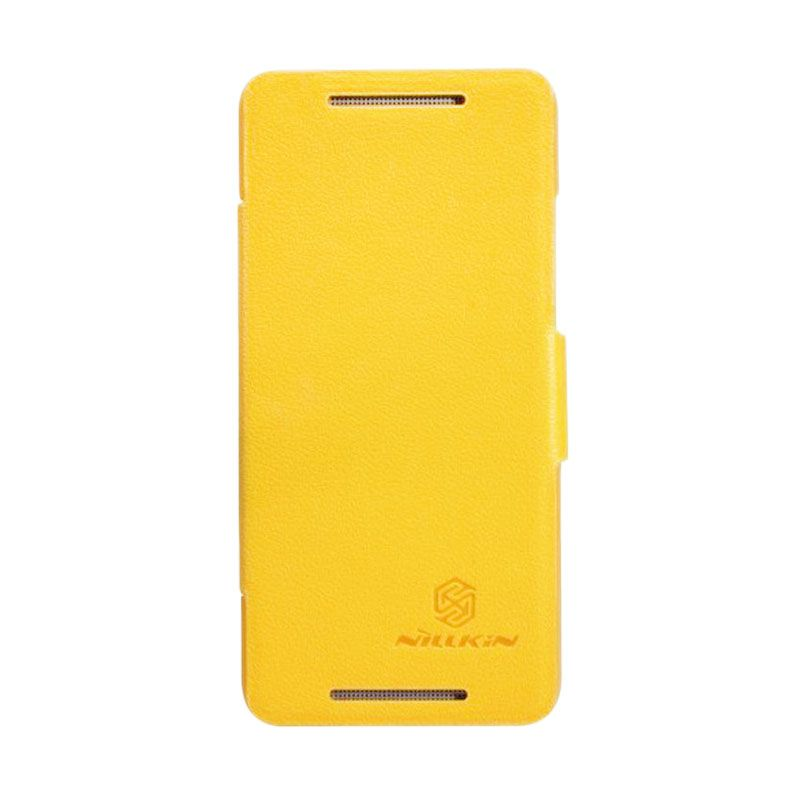Nillkin Fresh Yellow Leather Case for HTC One Mini M4
