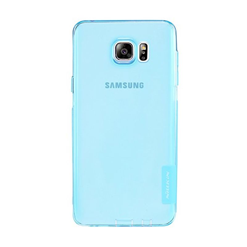 NILLKIN Nature TPU Blue Casing for Samsung Galaxy Note 5 (N920)