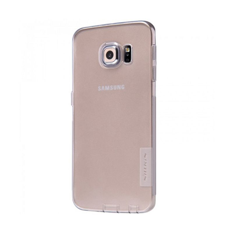 NILLKIN Nature TPU Ultra Thin Grey Casing for Samsung Galaxy S6 Edge