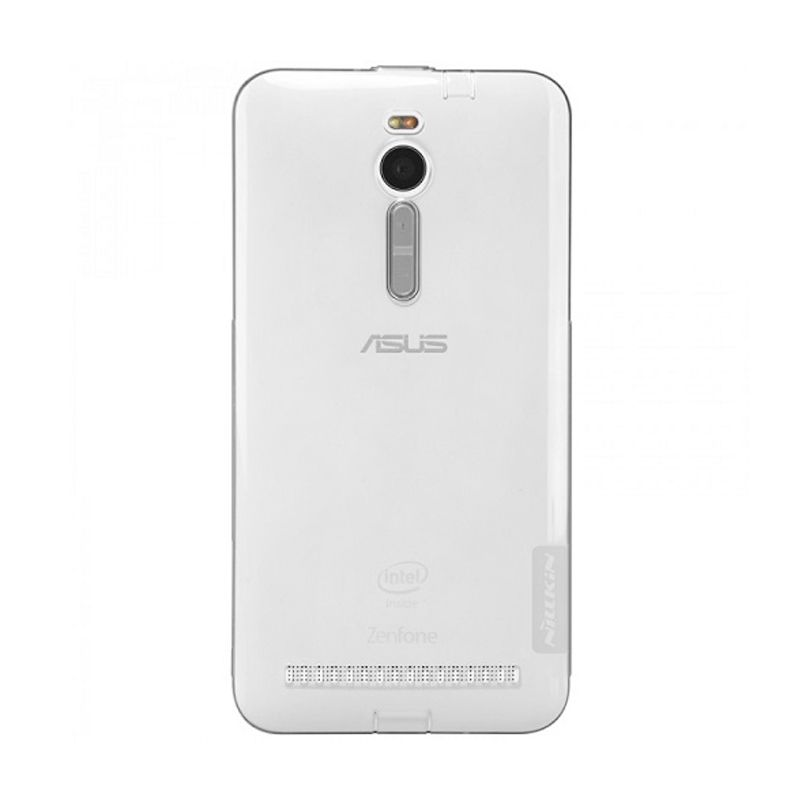 Nillkin Nature TPU Ultra Thin Grey Casing for Asus Zenfone ZE551ML 5.5 inch