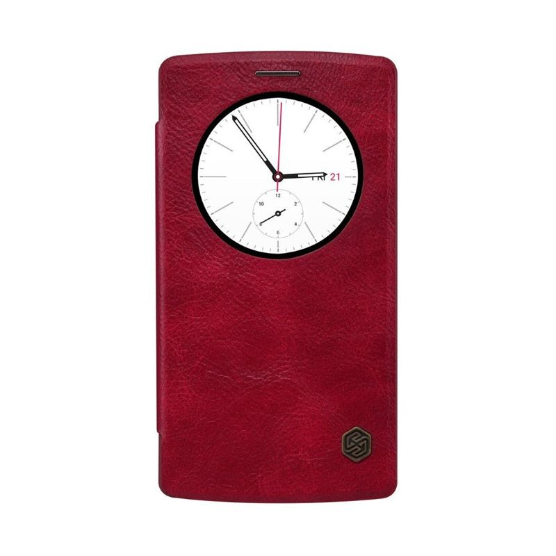 NILLKIN QIN Leather Red Casing for LG G4 Beat or G4s