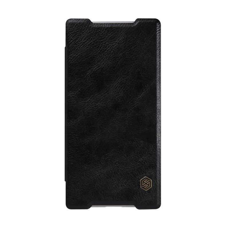 Nillkin QIN Leather Black Casing for Sony Xperia Z5