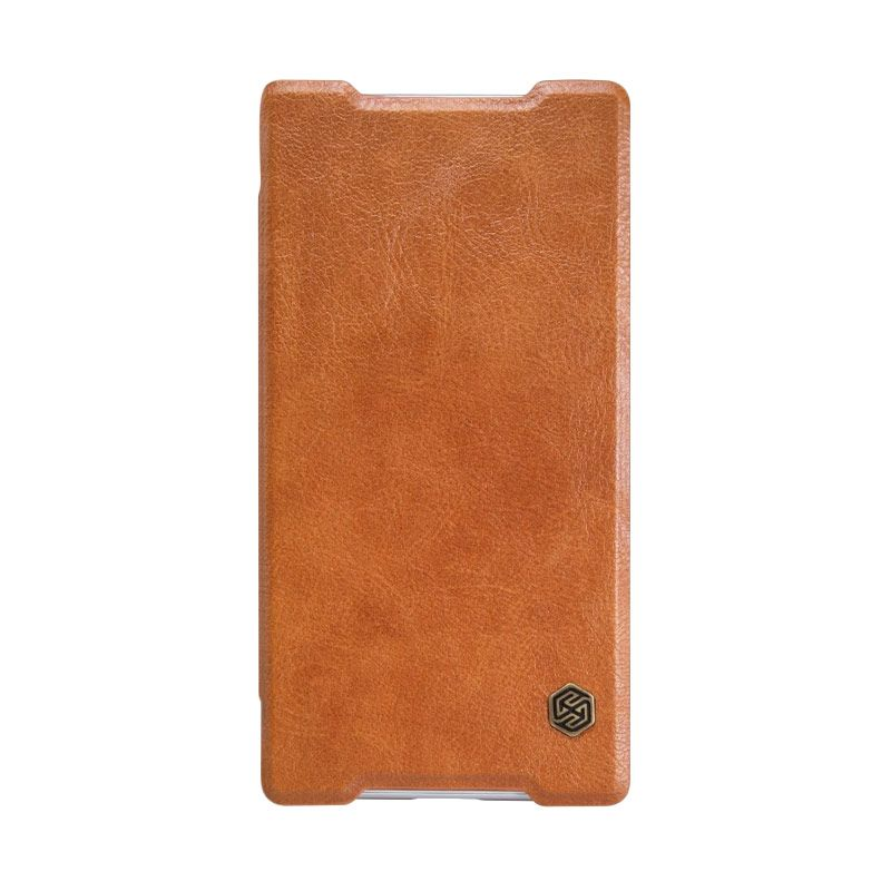 NILLKIN QIN Leather Brown Casing for Sony Xperia Z5