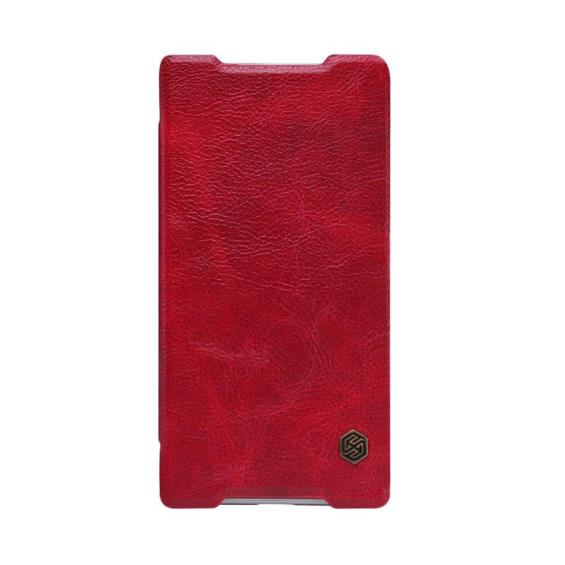 NILLKIN QIN Leather Red Casing for Sony Xperia Z5