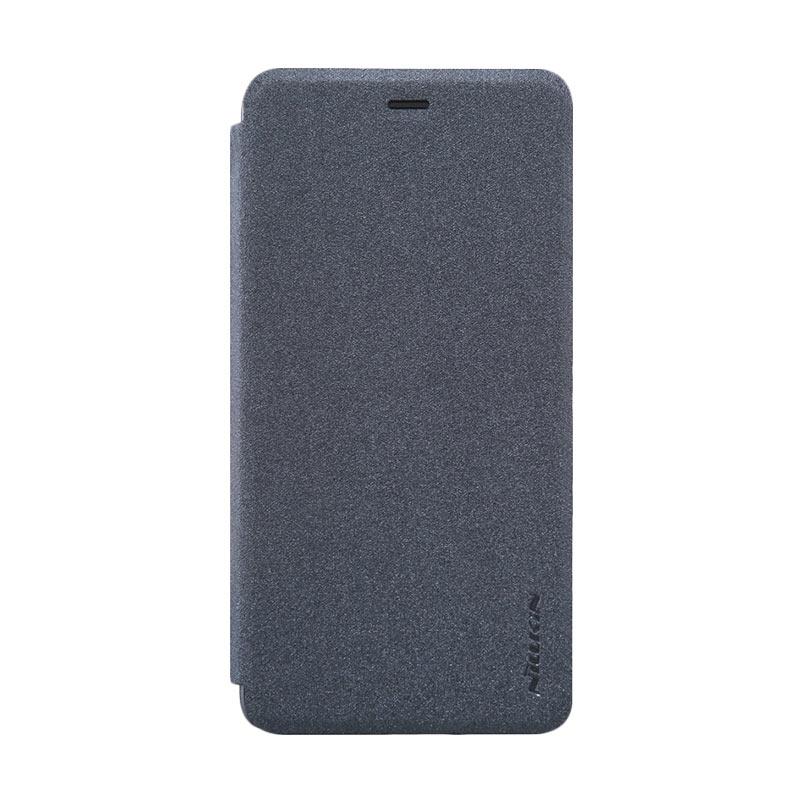harga Nillkin Sparkle Flipcover Casing for OnePlus X - Black Blibli.com
