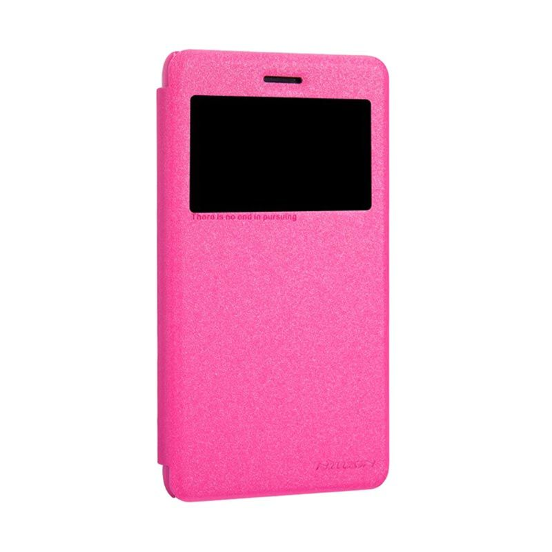 Nillkin Sparkle Fresh Series Pink Casing for Lenovo s860