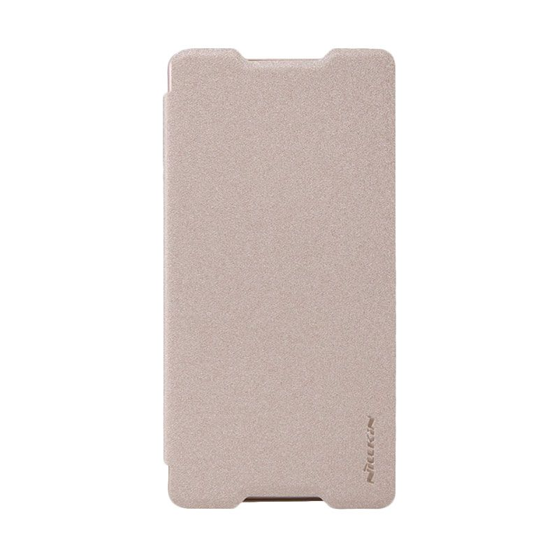 Nillkin Sparkle Gold Casing for Sony Xperia Z3+/Z4