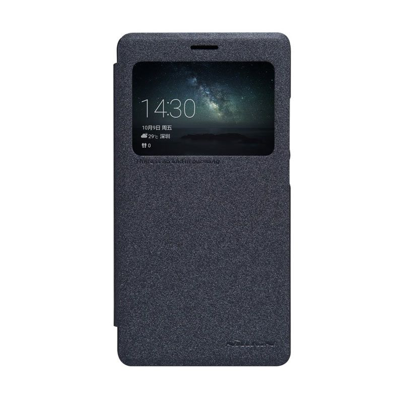 Nillkin Sparkle Leather Black Casing for Huawei Mate S