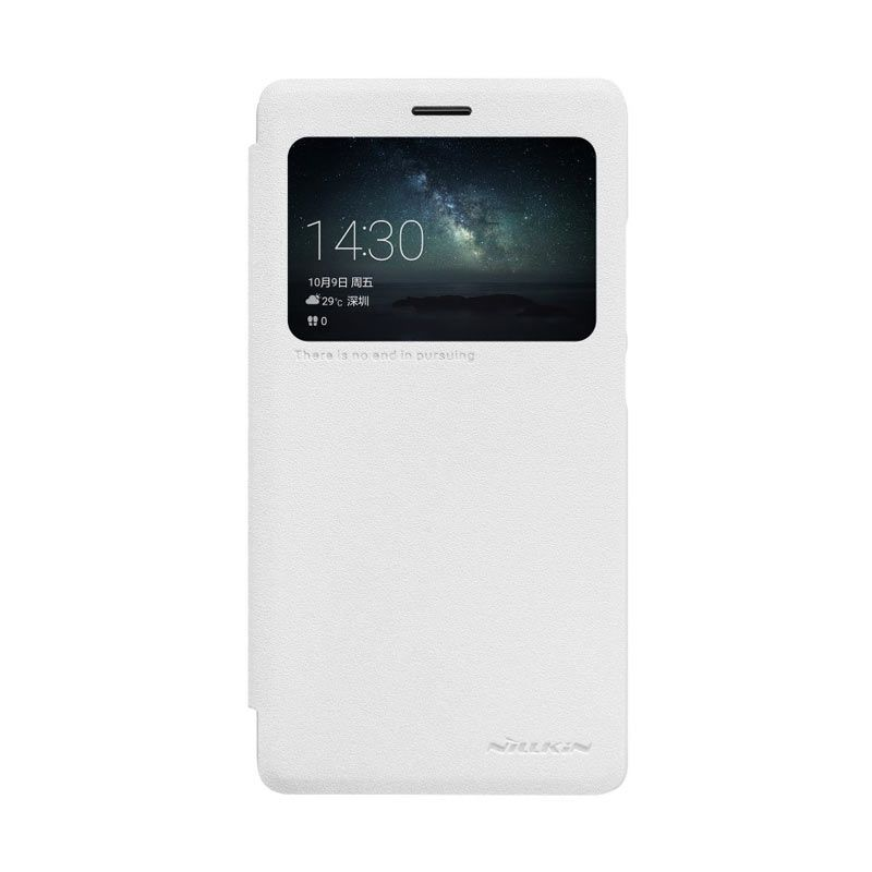 Nillkin Sparkle Leather White Casing for Huawei Mate S