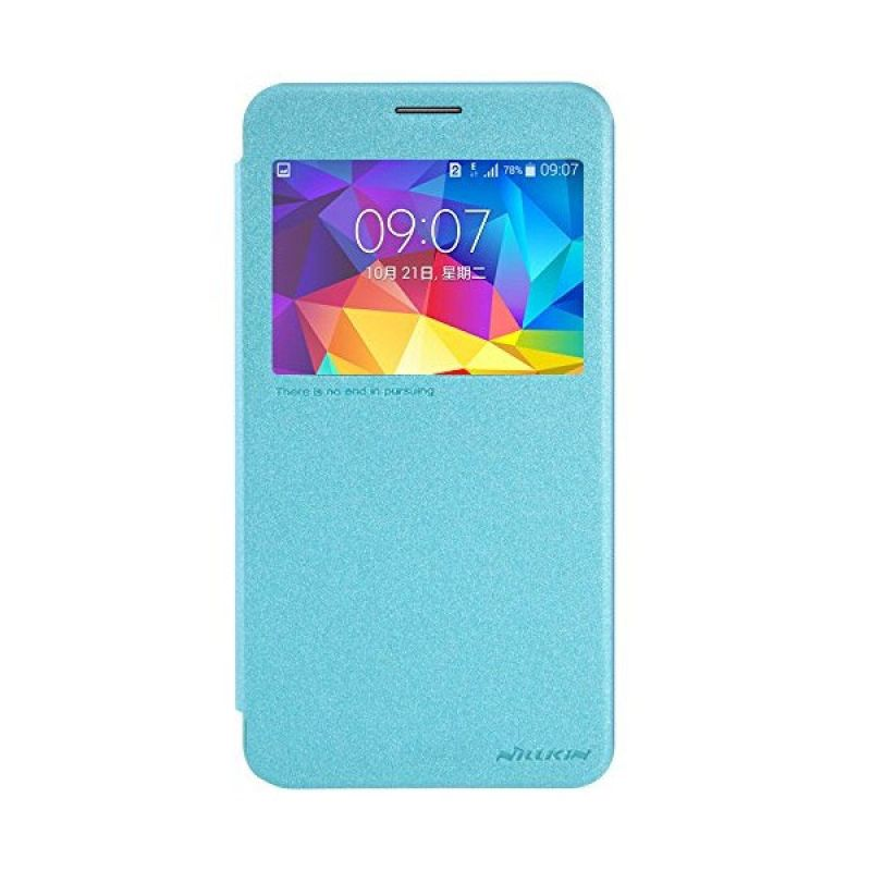 Nillkin Sparkle Leather Blue Case Samsung Galaxy Mega 2 (G7508)