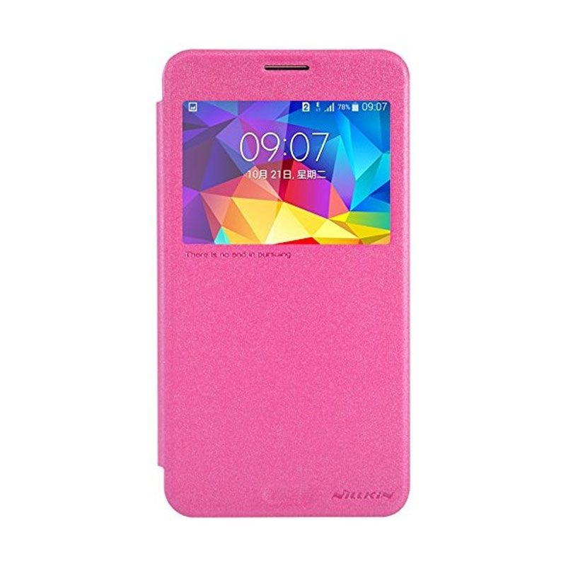 NILLKIN Sparkle Leather Case Samsung Galaxy Mega 2 (G7508) - Pink