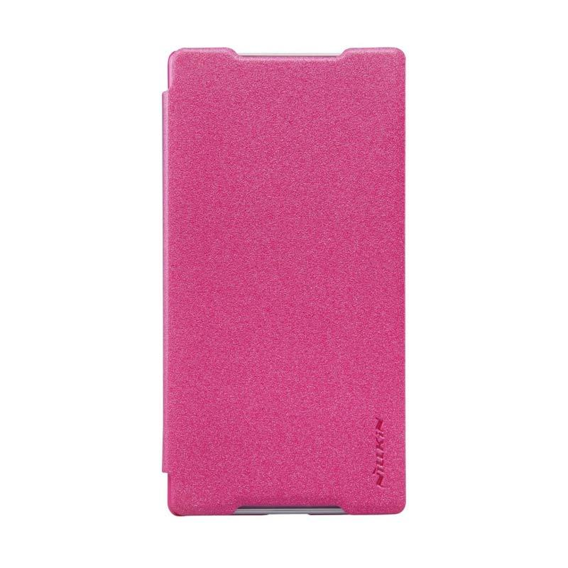 Nillkin Sparkle Leather Pink Casing for Sony Xperia Z5