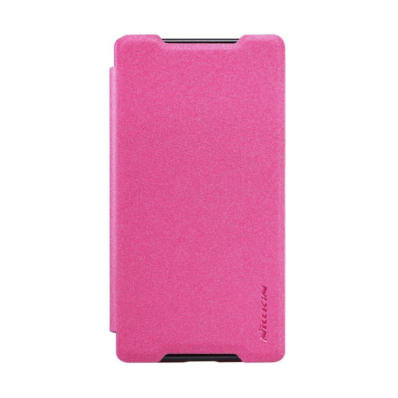 NILLKIN Sparkle Leather Pink Case for Sony Xperia Z5 Compact