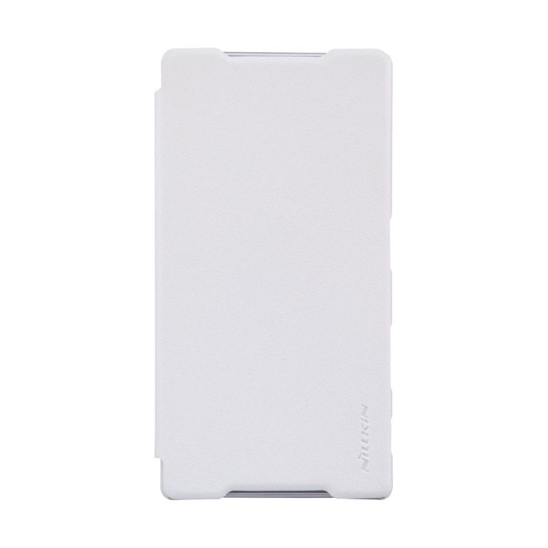 Nillkin Sparkle Leather White Casing for Sony Xperia Z5