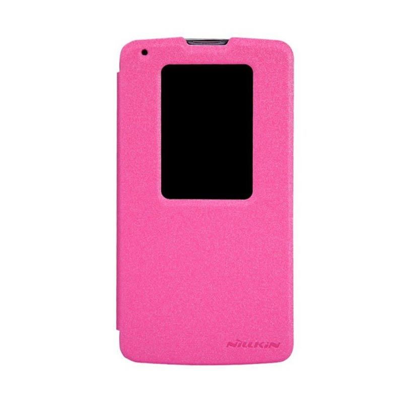 Nillkin Sparkle Leather Pink Casing for LG G Pro 2