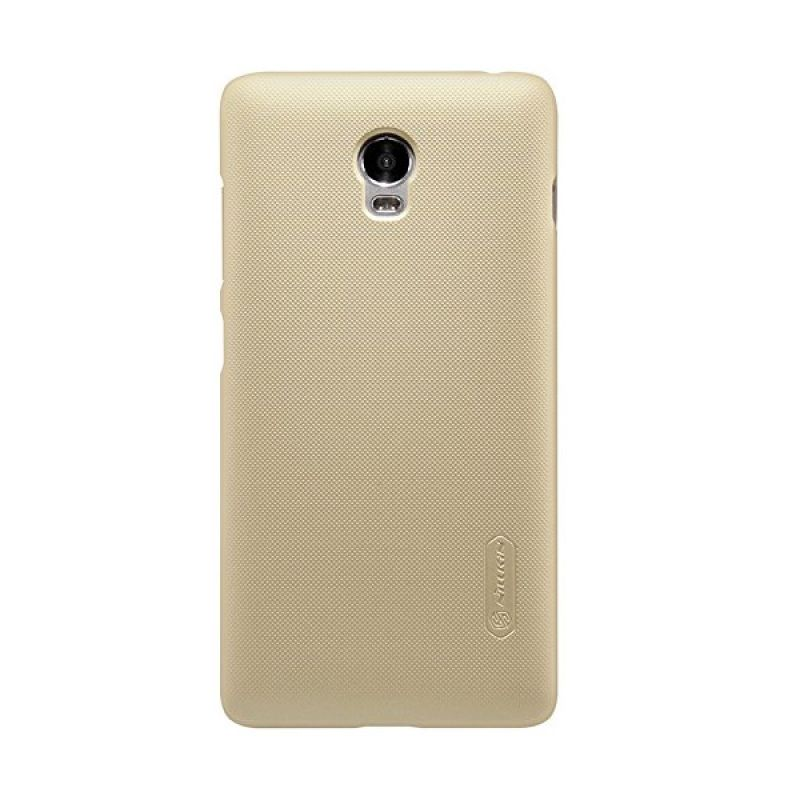 Nillkin Super Frosted Shield Gold Casing For Lenovo Vibe P1