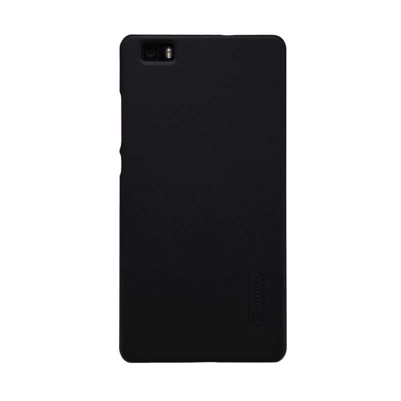 Nillkin Super Frosted Shield Black Casing For Huawei Ascend P8 Lite