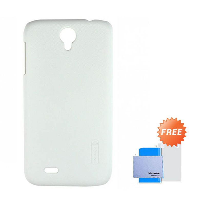 NIllkin White Hard Case for Lenovo A850