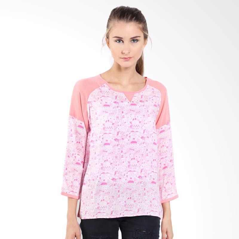 Ninety Degrees Home 24285D9PK Pink Atasan Wanita