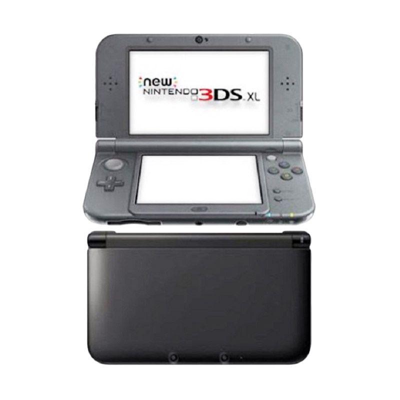 Nintendo New 3DS XL Hitam Metalik
