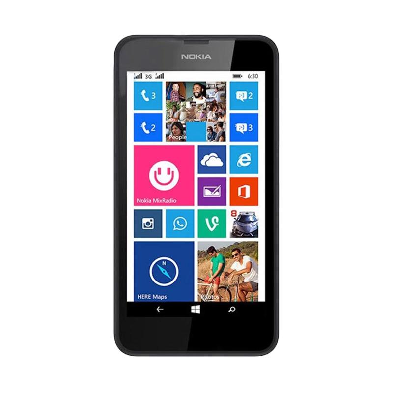 Nokia Lumia 630 Smartphone - Hitam [8 GB/Dual]