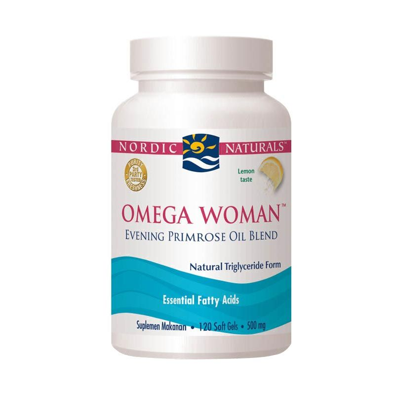 Nordic Omega Woman Lemon (120 Softgels) w