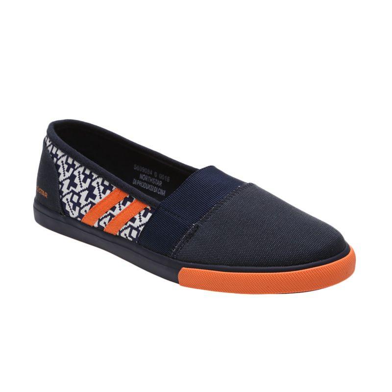 Faster Sepatu Sneakers Kanvas Pria 1603 01 Hitam Putih 40 45. Source · North Star