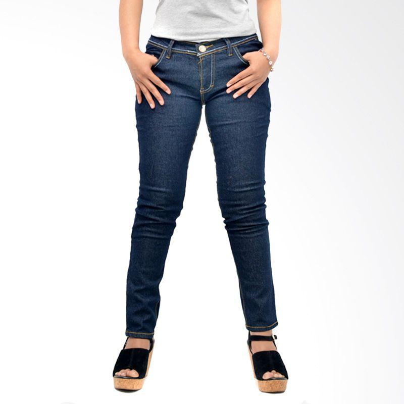 Nuber Washed Denim Black Celana Jeans Wanita (30)