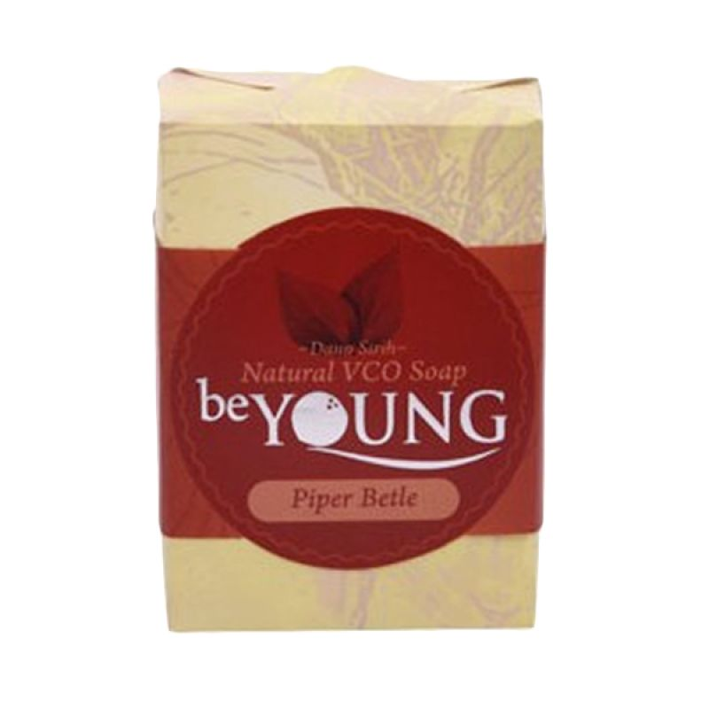 be Young Natural VCO Soap Piper Betle Sabun Wanita [100 g]