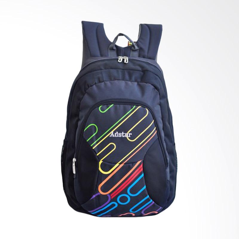 Adstar Backpack Ravo Black Tas Ransel