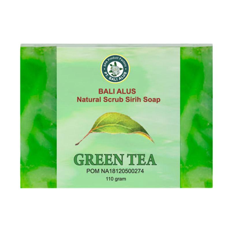 Bali Alus Sabun Spa Scrub Green Tea 110 gr