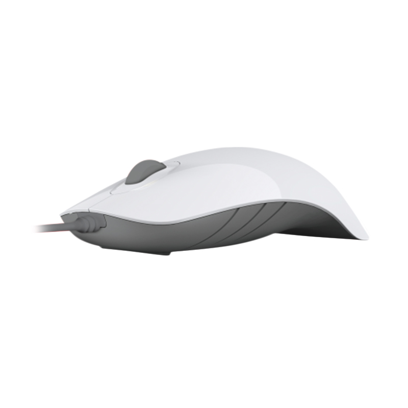 Powerlogic Shark White Grey Mouse USB