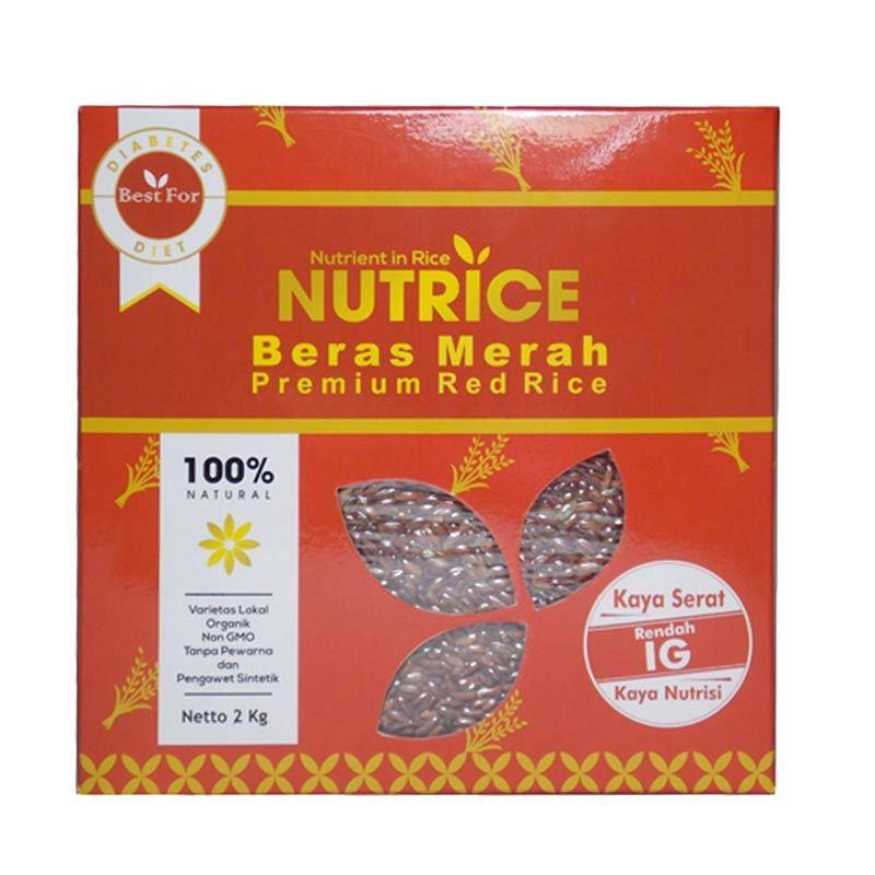 Jual Nutrice Beras Merah Organik Premium [2 kg] Online ...