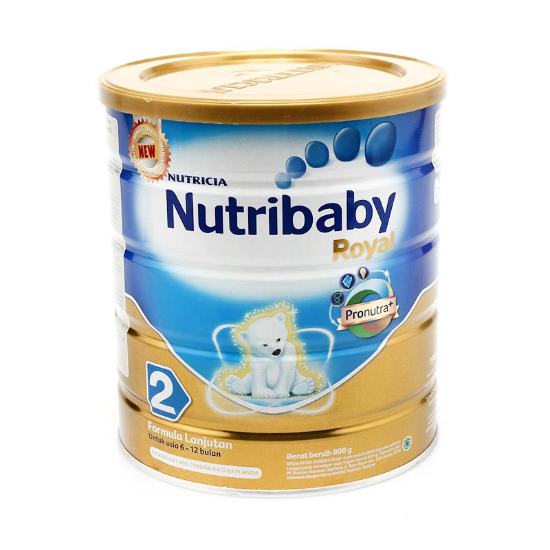 harga Weekend Deals Nutribaby Royal 2 Susu Formula [800 gr] Blibli.com