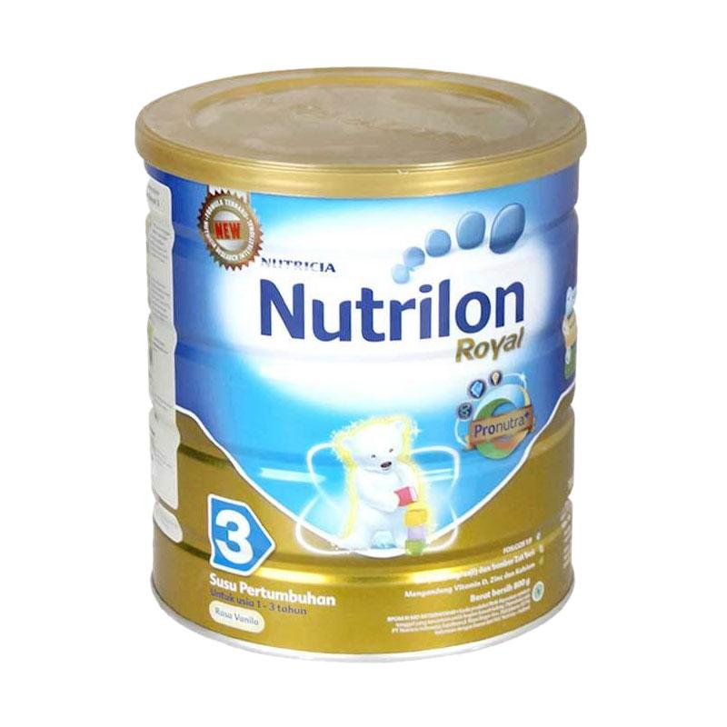 Nutricia Nutrilon Royal Pronutra+ Tahap 3 Vanila Susu Formula [800 g]