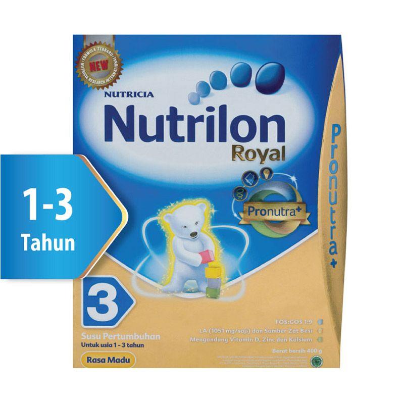 Nutrilon Royal Pronutra 3 Madu Susu Formula Box 400gr