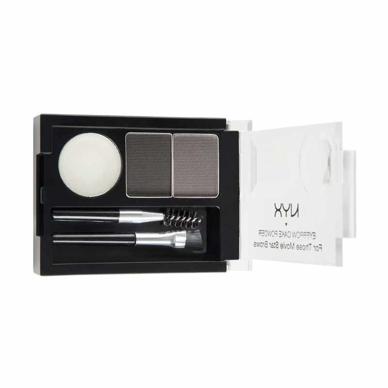 harga NYX Eyebrow Cake Powder #Black/Gray [2.65 gr] Blibli.com