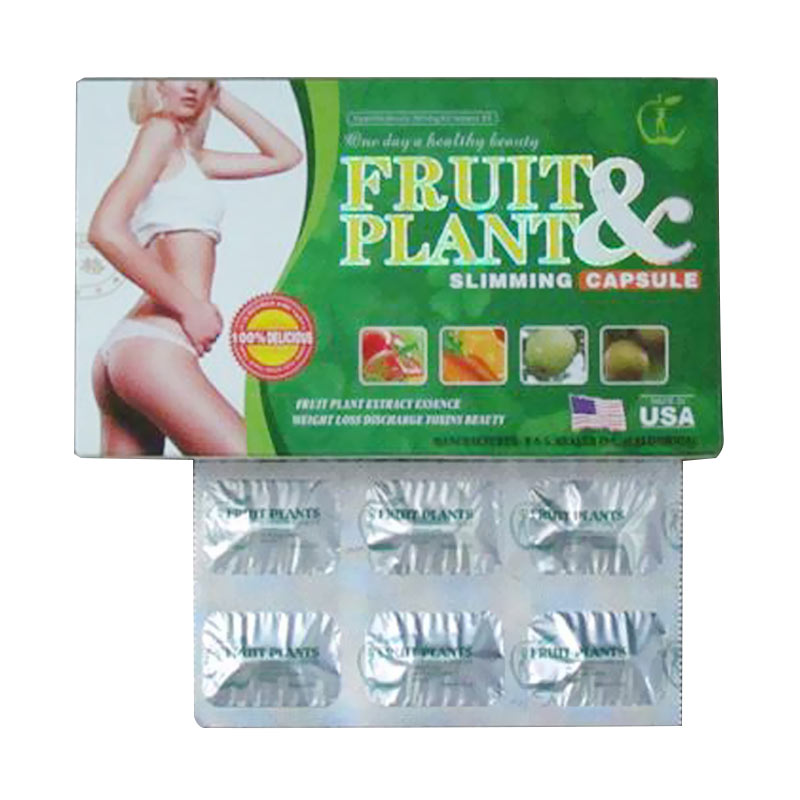 Fruit Plant USA Original Obat Herbal Pelangsing Tubuh Alami Ideal