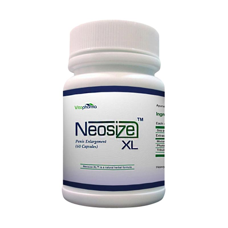 PROMO ( 2 Botol ) Neosize Xl Obat Herbal Pria Pembesar Penis Permanen