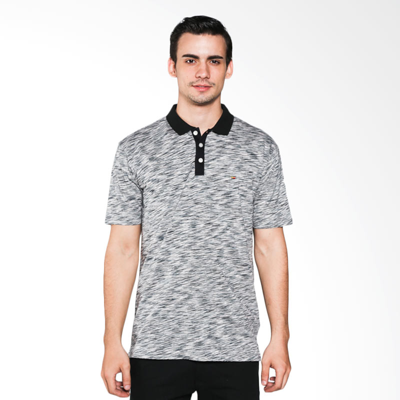Ocean Line 18102386DN Black Grey Polo Shirt Extra diskon 7% setiap hari Extra diskon 5% setiap hari Citibank – lebih hemat 10%